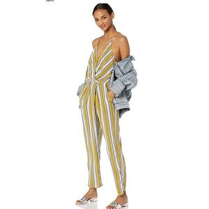 ASTR the Label Sterling Sleeveless Stripe Jumpsuit